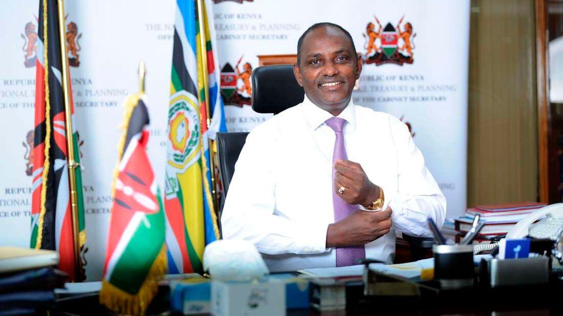 Treasury Cabinet Secretary Ukur Yatani at his office in Nairobi on June 9, 2021, a day before reading the 2021/22 Budget. PHOTO | JOAN PERERUAN | NMG