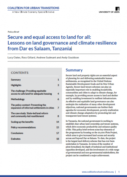 Tanzania-Land-Reform