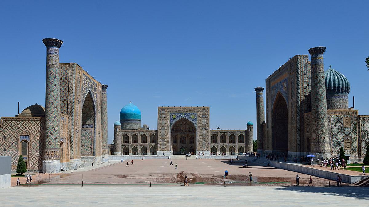 Samarkand, Uzbekistan, photo by Henrik Berger Jørgensen, CC 2.0 license