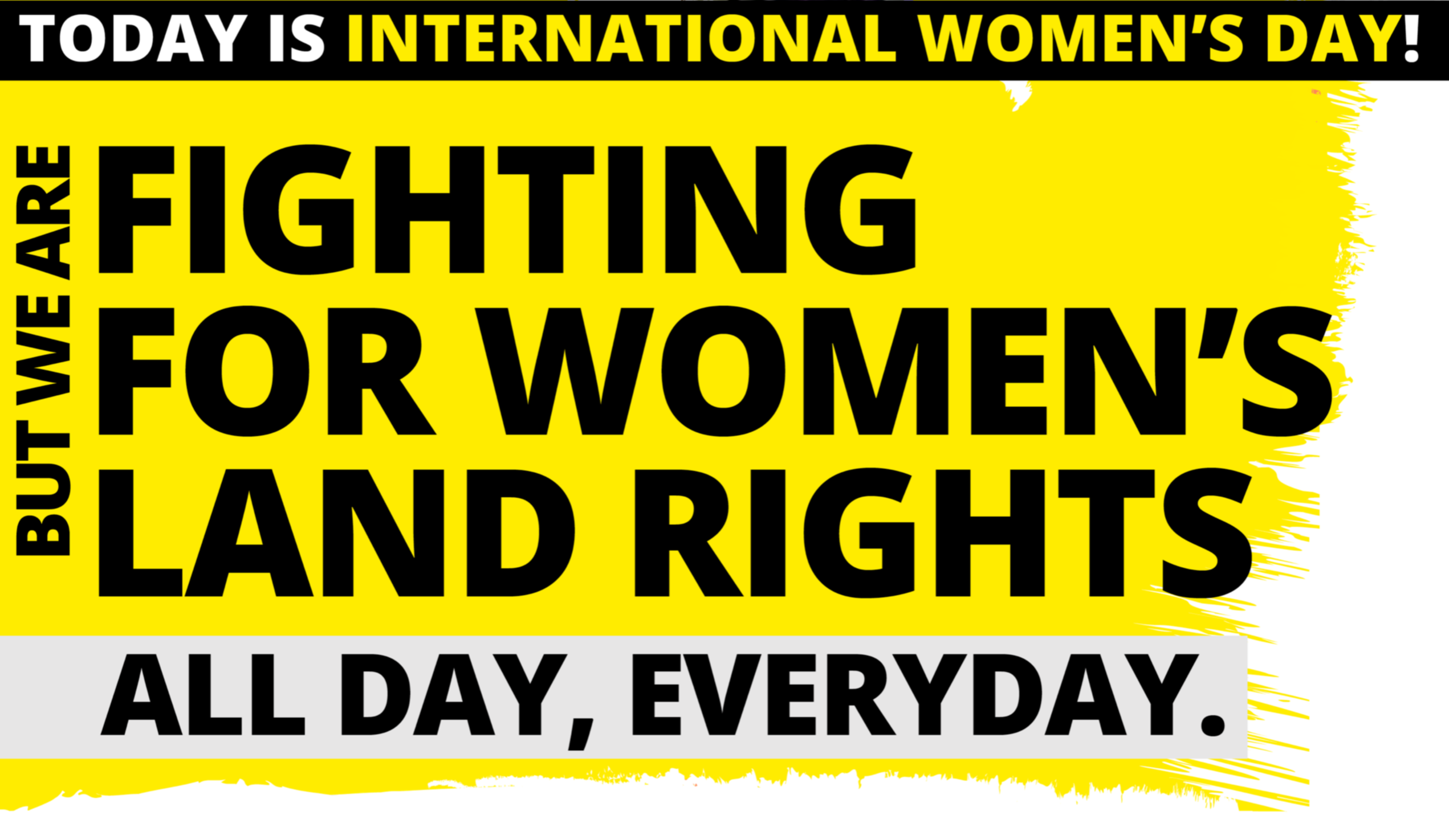 Fighting for women's land rights