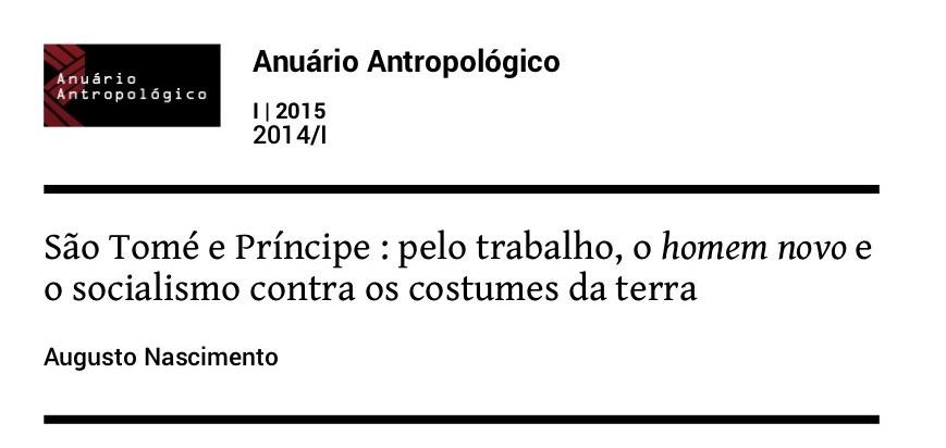 Anuario Antropologico