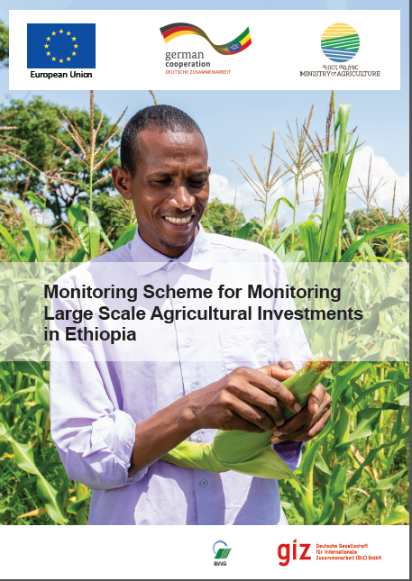Monitoring Scheme for Monitoring Large Scale Agricultural
