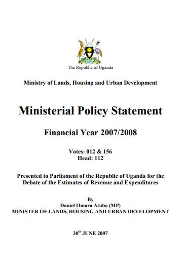 Financial Year 2007/2008
