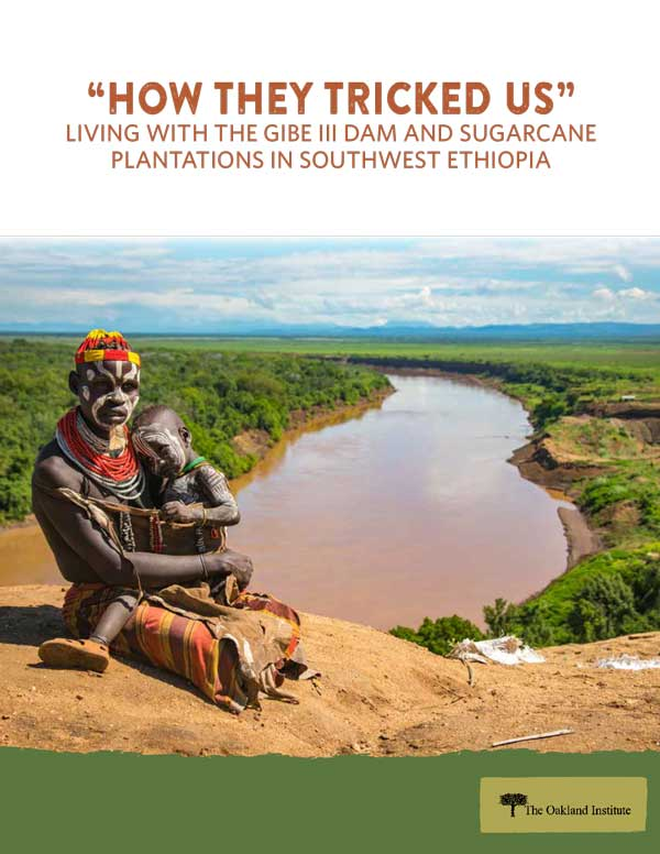"""""""HOW THEY TRICKED US"""" LIVING WITH THE GIBE III DAM AND SUGARCANE PLANTATIONS IN SOUTHWEST ETHIOPIA"""