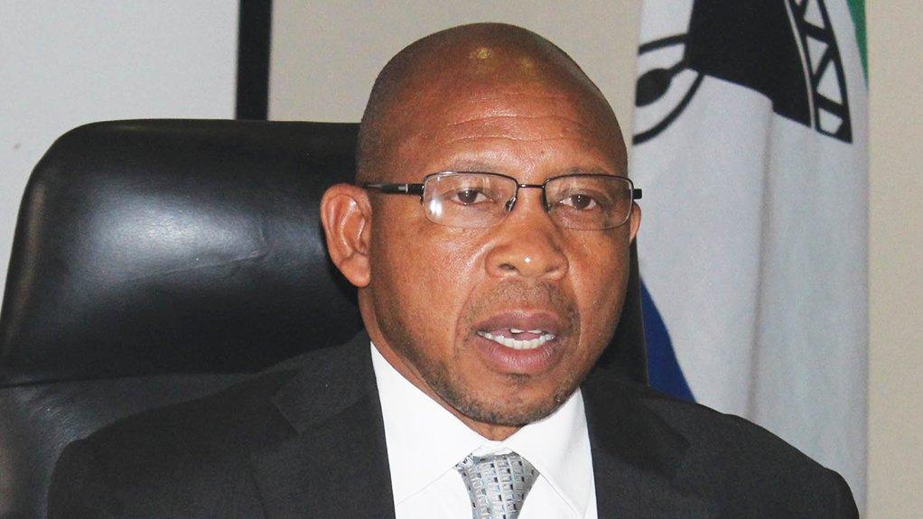 Lesotho Prime Minister Dr Moeketsi Majoro