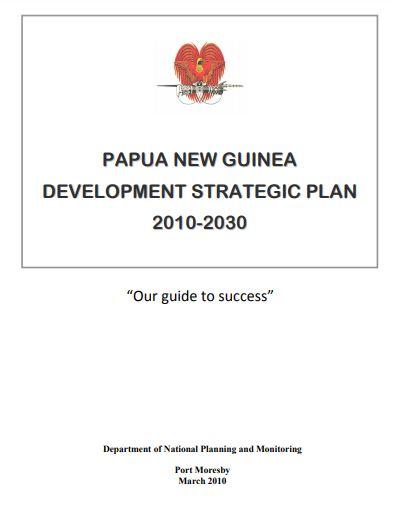 papua new guinea strategic plan