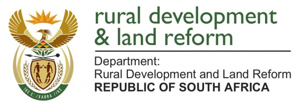 Ministry of Rural Development and Land Reform logo
