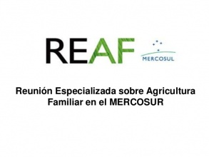 Reunión Especializada de Agricultura Familiar del MERCOSUR logo