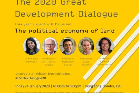 The 2020 Great Development Dialogue: the political economy of land