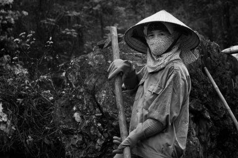 china woman farmer