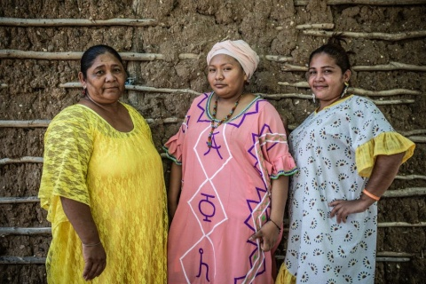 Death threats for defending land and water from a coal mine:  Force of Wayúu Women in Colombia