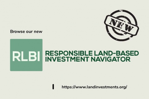Responsible Land-Based Investment Navigator