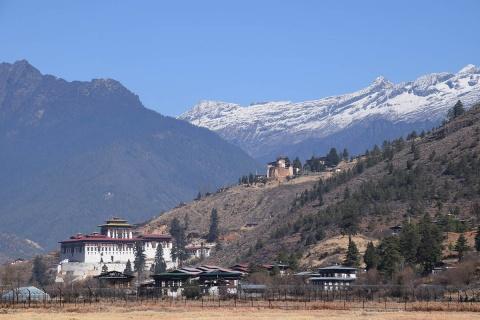 Rinpung Dzong, photo by LittleMouse, Pixabay Open License