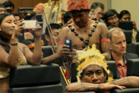 Foto: Paulenir Constâncio/MMA; Ibama intensificará fiscalização para combater garimpos ilegais nas terras dos Munduruku