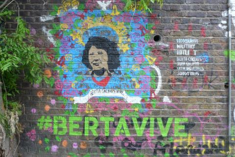 Berta Cáceres Street Art