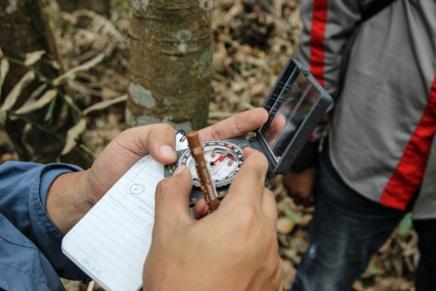 Land Monitoring. Photo by Deanna Ramsay/CIFOR
