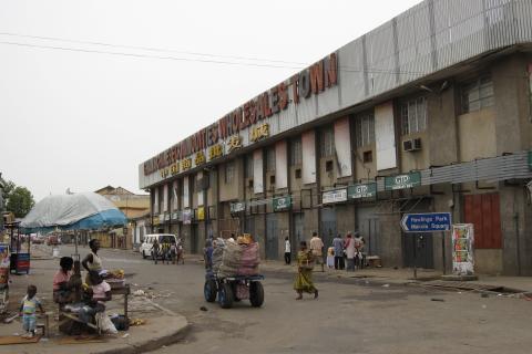 accra ghana road