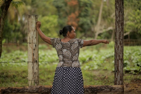 A Miskito woman in Nicaragua. Photo: Jason Taylor/ILC.