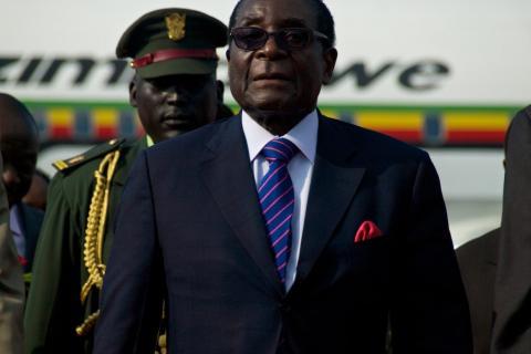 zimbabwe mugabe land reform
