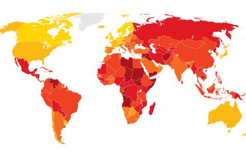 Corruption Perceptions Index 2018