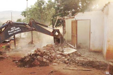 Demolitions in Nokwane by Lombcebo Dlamini