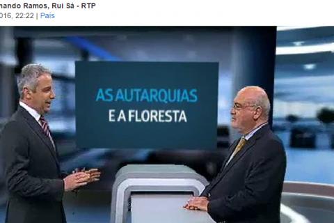 Capoulas Santos na RTP: Reforma florestal