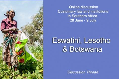 Eswatini, Lesotho & Botswana