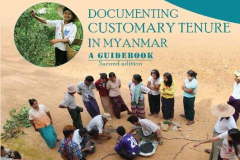 Customary Tenure Guidebook Myanmar Cover