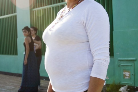 Natalia Colazo para el Movimiento de Mujeres Indígenas por el Buen Vivir.