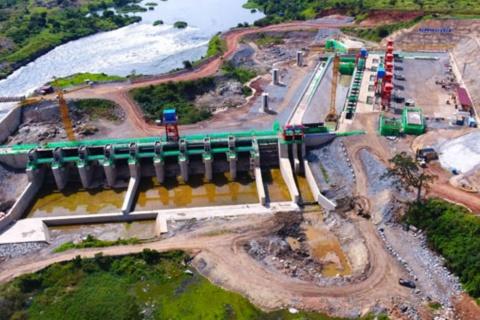 Karuma hydropower dam under construction in Kiryandongo District. PHOTO/ FILE