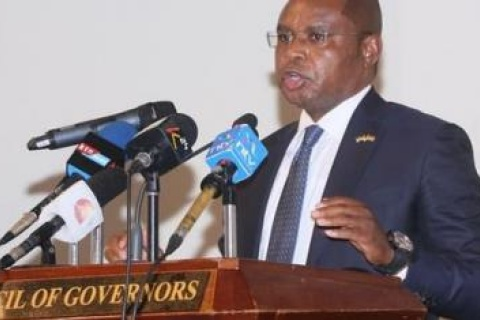 Kilifi Governor Amason Kingi during a press briefing on January 13, 2021FACEBOOK