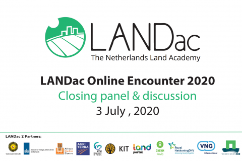 LANDac Online Encounter 2020: Closing panel & discussion