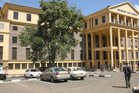 A frontal view of the newly refurbished Milimani Law Courts November 17, 2011.HEZRON NJOROGE