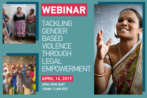 Tackling Gender Based Violence Through Legal Empowerment