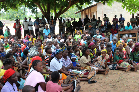 A land rights inauguration ceremony in Mozambique, by Lasse Krantz