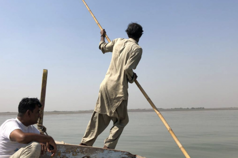 Pakistani fishermen fear a 'new Dubai' could empty their nets