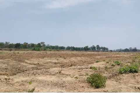 Image showing cleared land in Ratanakiri province. Photo: Inclusive Development International