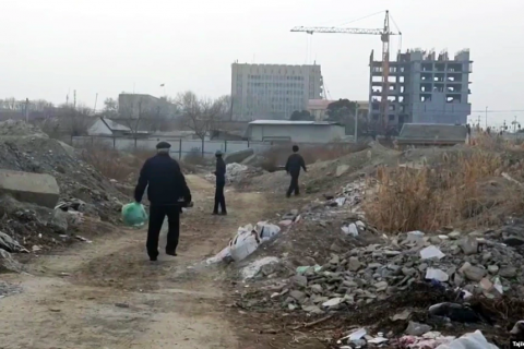 Tajik City's Chinatown Dream Comes Crashing Down