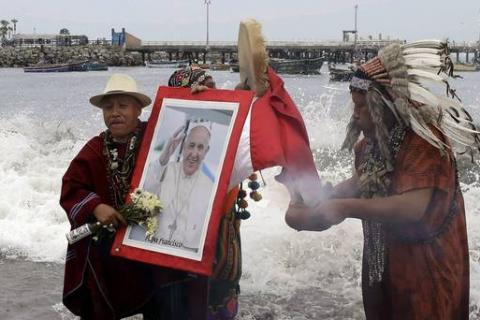 Peru's indigenous leaders urge Pope Francis to back land rights campaign