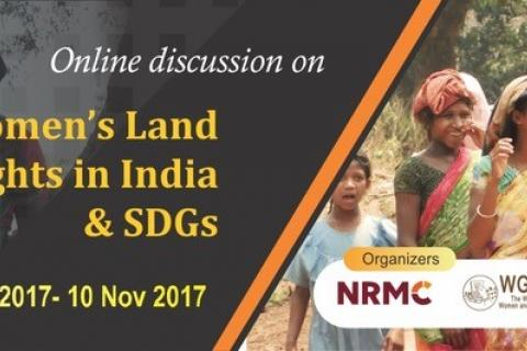 Women's Land Rights and the Sustainable Development Goals (SDGs)