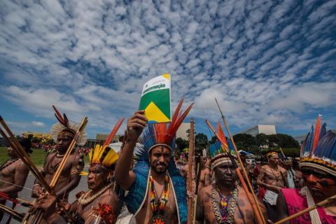 Crédito: Fábio Nascimento/Mobilização Nacional Indígena