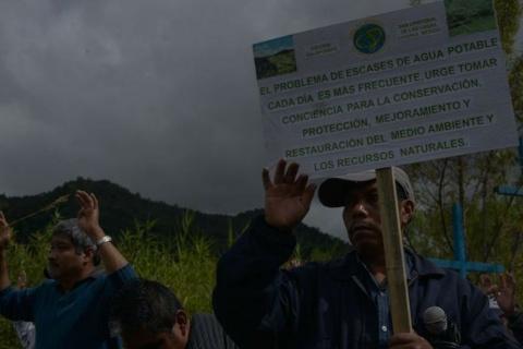 Defensores medioambiental. . Foto Cuartoscuro / Archivo Jornada