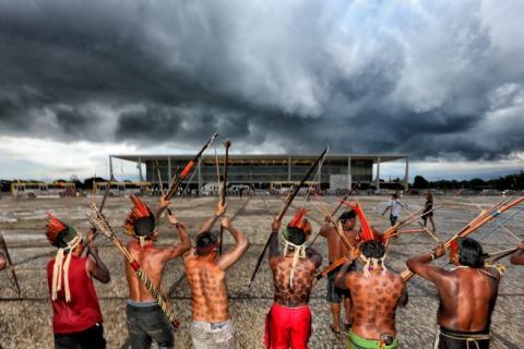Mobilização Nacional Indígena em 2015   Lula Marques