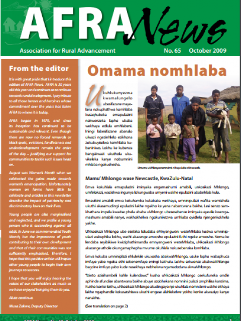 AFRA News No.65