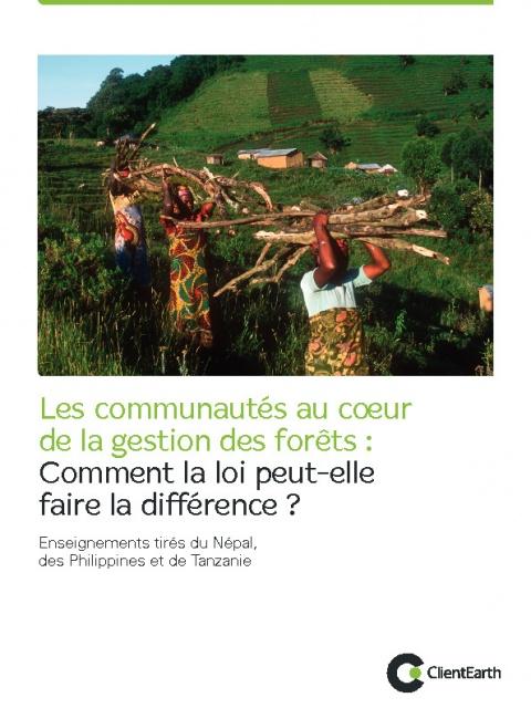 Les communautés au coeur de la gestion des forêts
