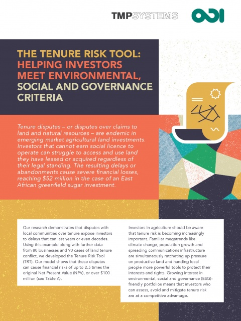 QTR brief - The Tenure Risk Tool