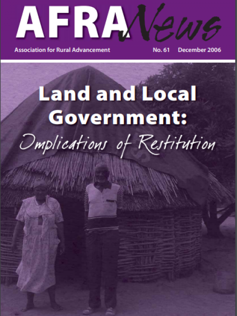 Land and Local Government