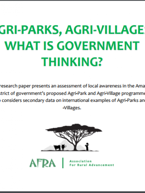Agri-Parks, Agri-Villages