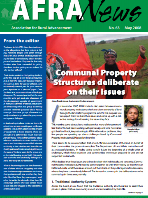 AFRA News No.63