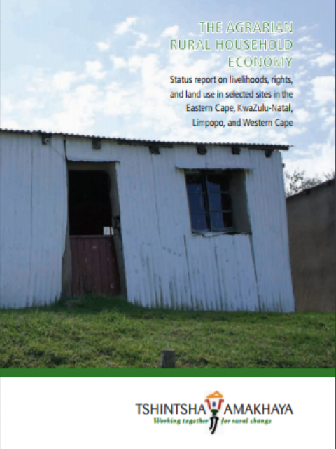 The Agrarian Rural Household Economy
